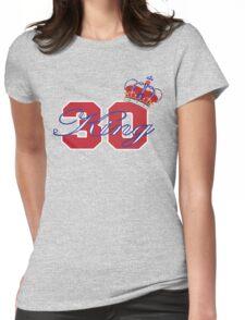 New York Rangers Henrik Lundqvist Womens Fitted T-Shirt