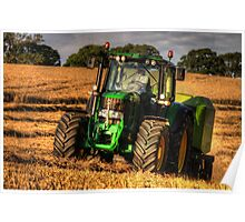 Tractor and the Baler Poster
