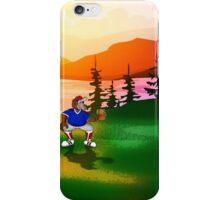 Baseball Sunset iPhone Case/Skin