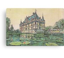 Chateau Canvas Print