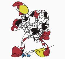 Abstract Animal by RegiaArt Kids Tee