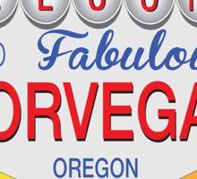 "Corvallis ""Corvegas"", OR Sticker"
