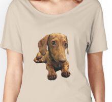 Doobi the dachshund Women's Relaxed Fit T-Shirt