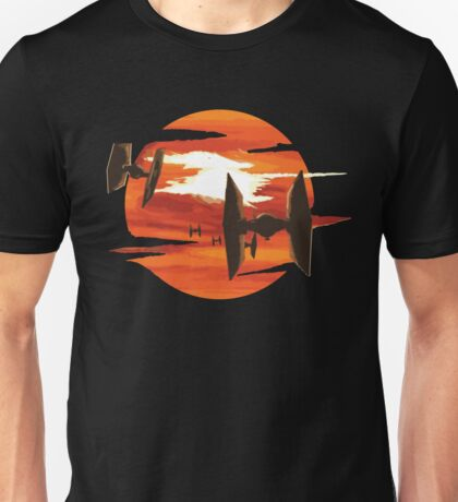 Ride of the Tie fighters Unisex T-Shirt