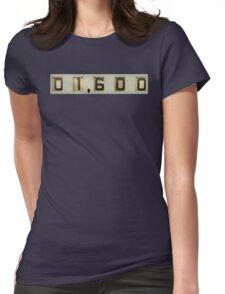 pinball score Womens Fitted T-Shirt