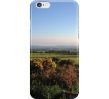 Aberdeenshire countryside... and look a dog! iPhone Case/Skin