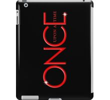once upon a time, red text, uoat, iphone, OUAT iphone iPad Case/Skin
