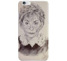 Judge Judy Portrait  iPhone Case/Skin