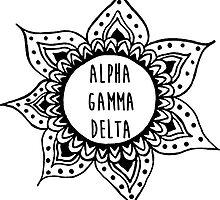 Alpha Gamma Delta by sophhsophh