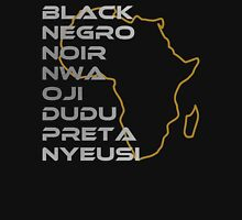 BLACK in Every Language T-Shirt