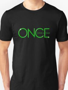 Once Upon A Time, Green Text, OUAT, iphone, tshirt, OUAT iphone Unisex T-Shirt