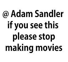 Adam Please Photographic Print