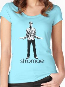 Stromae  Women's Fitted Scoop T-Shirt