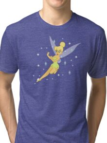 Fairy fists, Fairy magic, fairy fight, tink, tinkerbell, angry tinkerbell, v2 Tri-blend T-Shirt