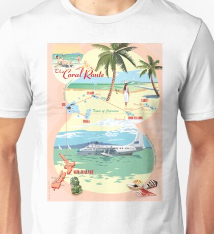 The Coral Route -  Unisex T-Shirt