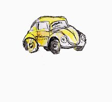 Yellow VW Bug Watercolor Sketch Unisex T-Shirt