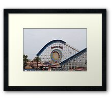 California Screamin' - Paradise Pier Framed Print
