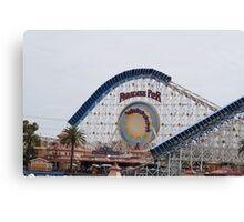 California Screamin' - Paradise Pier Canvas Print