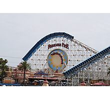 California Screamin' - Paradise Pier Photographic Print