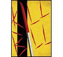 Kill Bill minimal poster Photographic Print