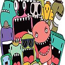 Doodle Monsters by Pip Gerard