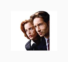 Low Poly X-Files Mulder and Scully Classic T-Shirt