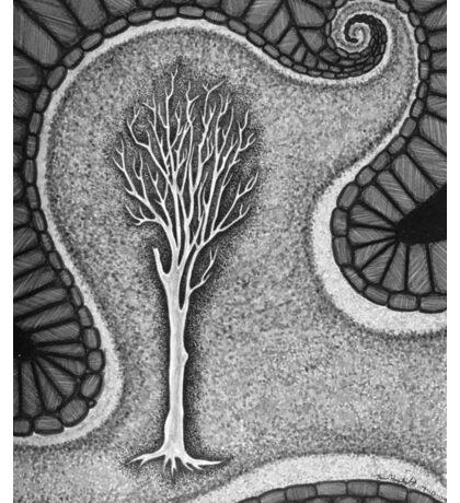 Surreal Tree Sticker
