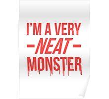 Dexter typography Poster