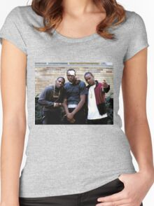 PAID IN FULL Women's Fitted Scoop T-Shirt