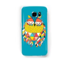 Aztec Owl Illustration Samsung Galaxy Case/Skin