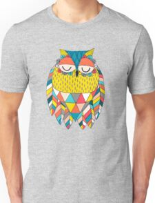 Aztec Owl Illustration Unisex T-Shirt