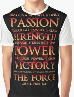 Sith Motto  Graphic T-Shirt