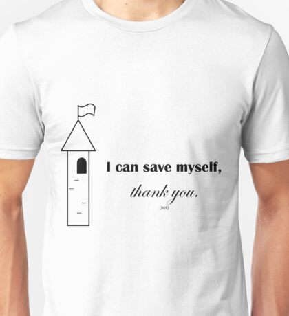i can save myself Unisex T-Shirt