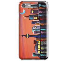 Toronto Skyline Whimsical Art by Valentina Miletic iPhone Case/Skin