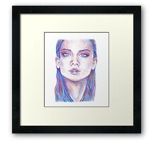 Some Girl  Framed Print