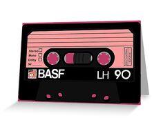 Cassette Tape Greeting Card