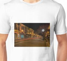 olde historic york city at christmas time in south carolina Unisex T-Shirt