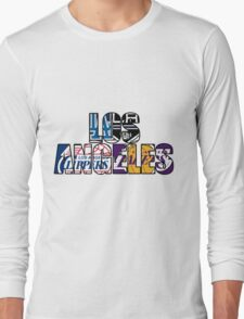 Los Angeles sport team mash ups Long Sleeve T-Shirt