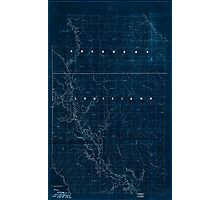 Civil War Maps 2120 Map of the Red River campaign March 10-May 22 1864 Inverted Photographic Print