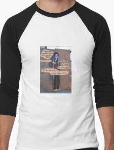 """Kurt Vonnegut - """"If This Isn't Nice"""" Men's Baseball ¾ T-Shirt"""