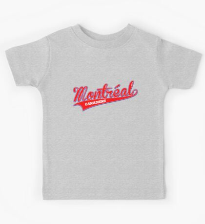 Montreal red script Kids Tee