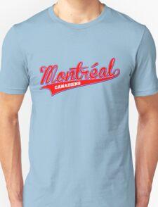Montreal red script Unisex T-Shirt