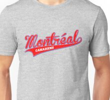 Montreal red script Unisex T-Shirt