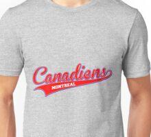 Canadiens red script Unisex T-Shirt