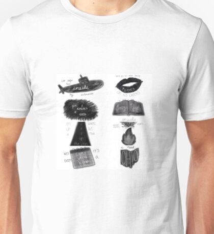 Jacob Whitesides Lyrics Unisex T-Shirt