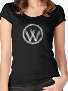 Volkswagen 3 Women's Fitted Scoop T-Shirt