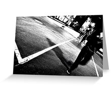 One Night on Rue Ste. Catherine Greeting Card