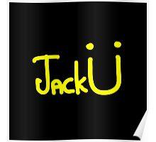 Jack Ü - Yellow Poster