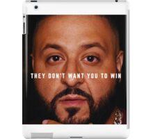 DJ Khaled - Win iPad Case/Skin