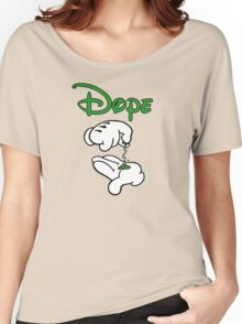 Dope Hands Women's Relaxed Fit T-Shirt
